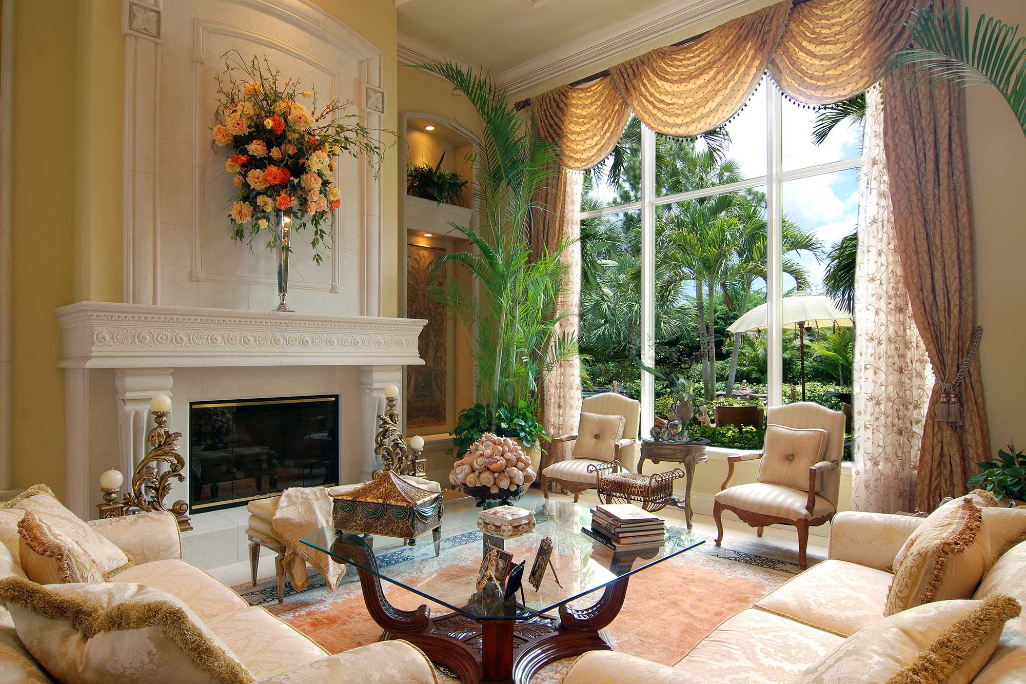Estate in palm beach gardens annie santulli designs for Interior designers palm beach