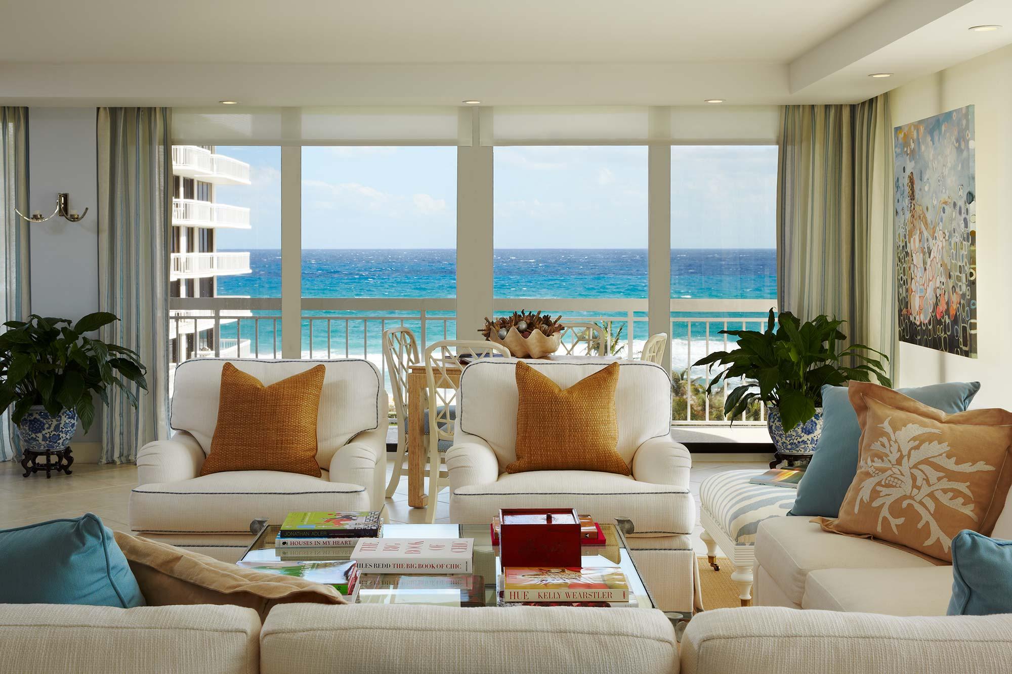 Palm Beach Ocean View Apartment Interior Design