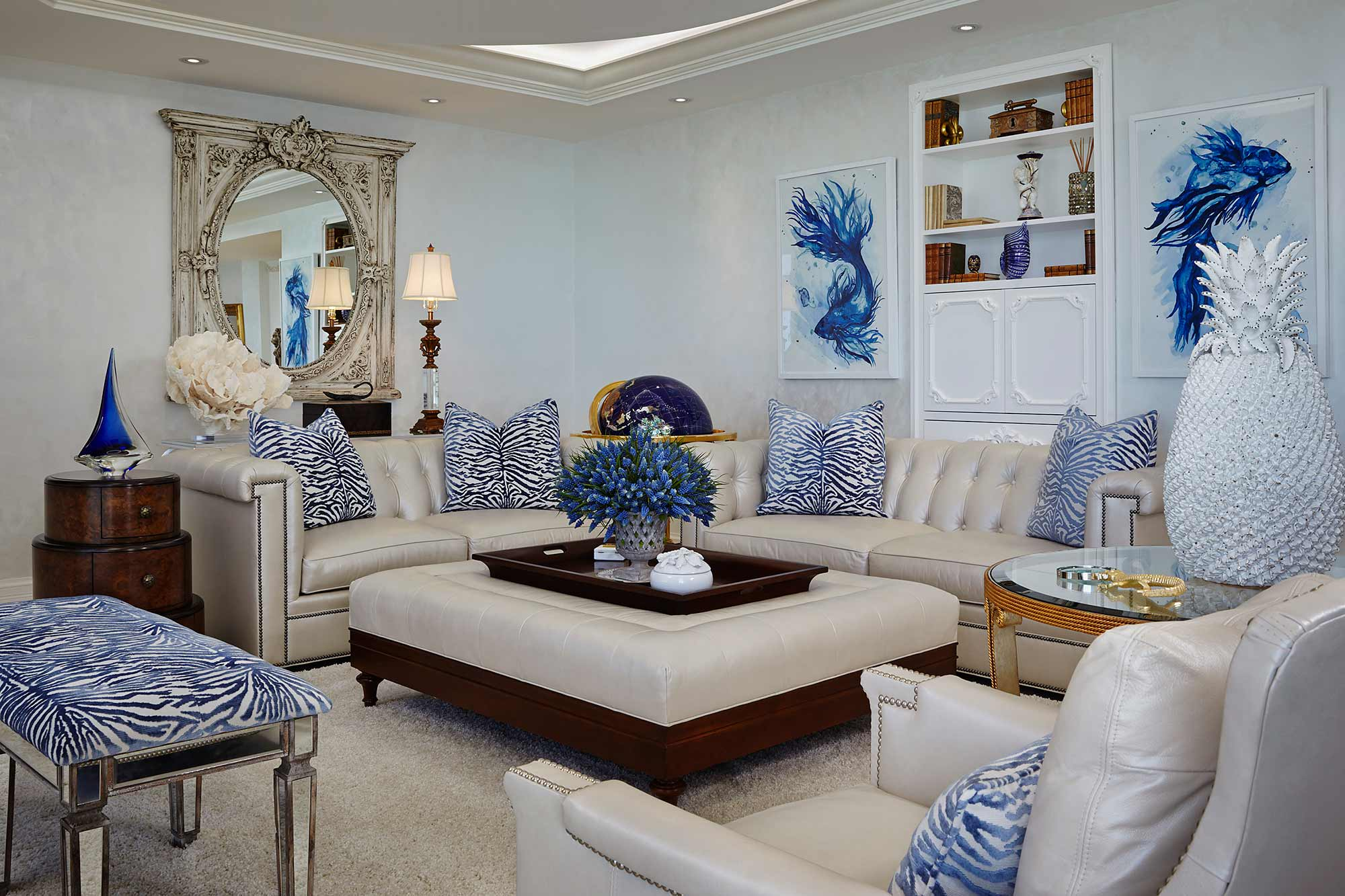 Jupiter Island Penthouse | Annie Santulli Designs   Luxury Palm Beach Interior  Design