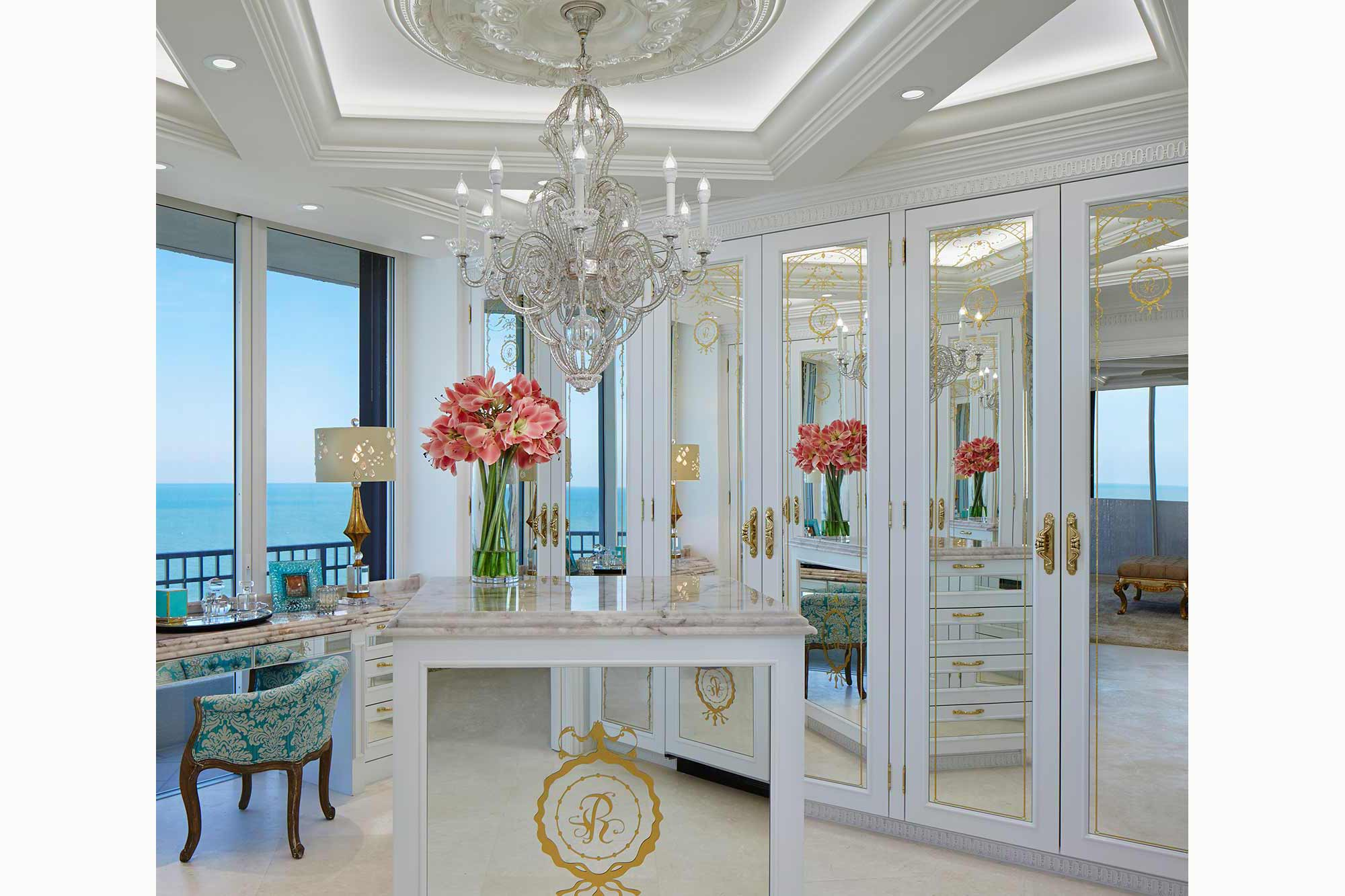 Jupiter Island Interior Design Closet