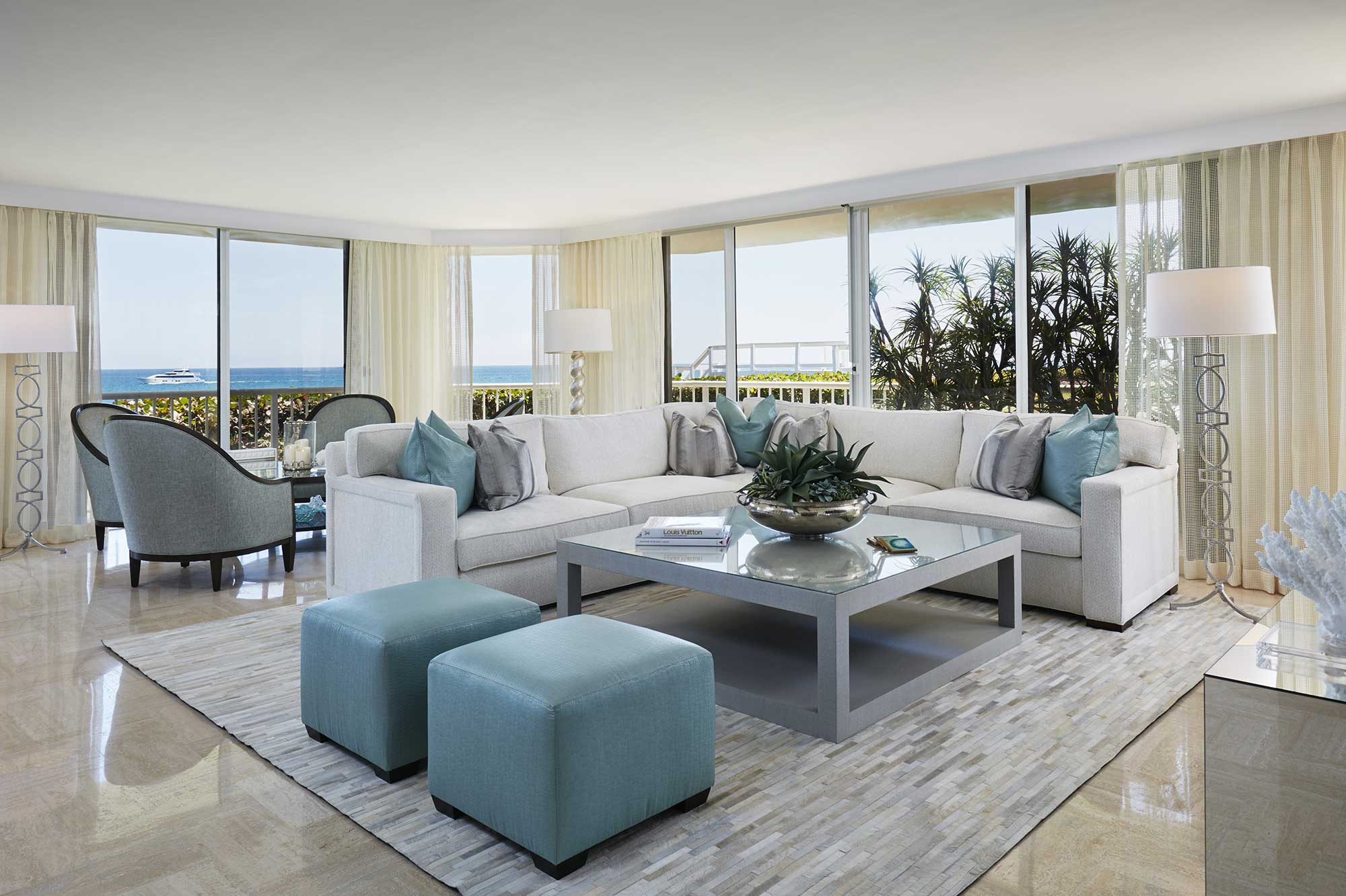 New project palm beach oceanfront paradise annie santulli designs luxury palm beach Palm beach interior designers
