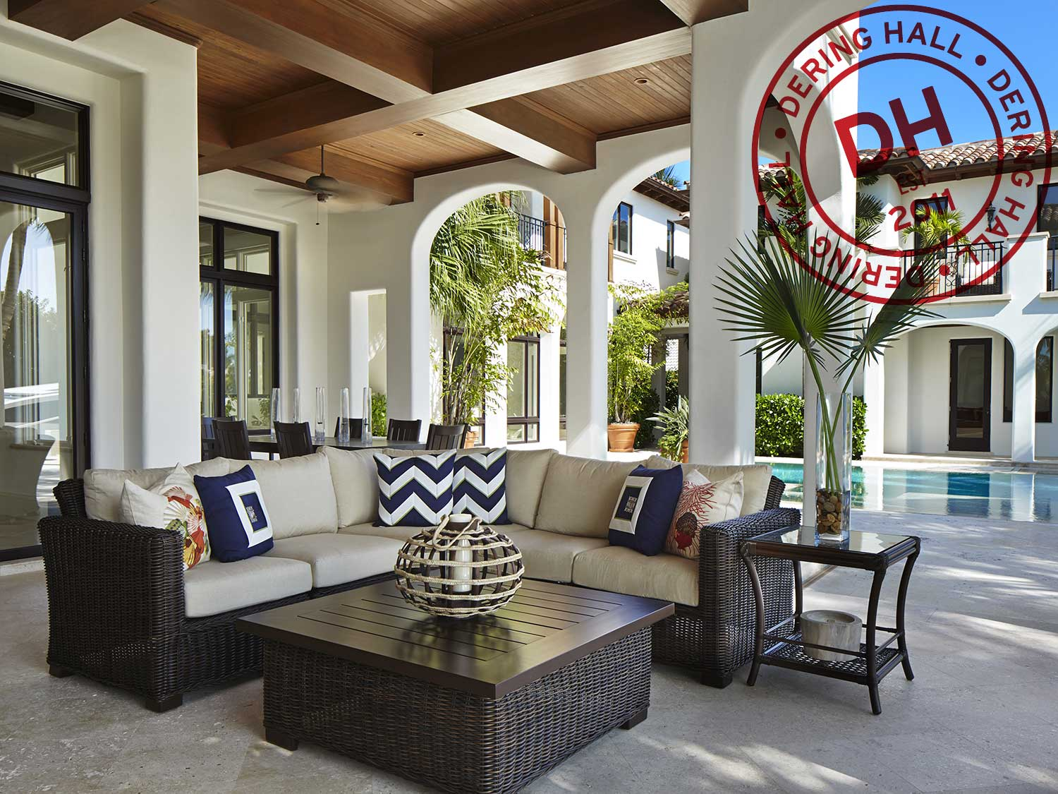 Derring Hall Outdoor Space with Ft Lauderdale Outdoor