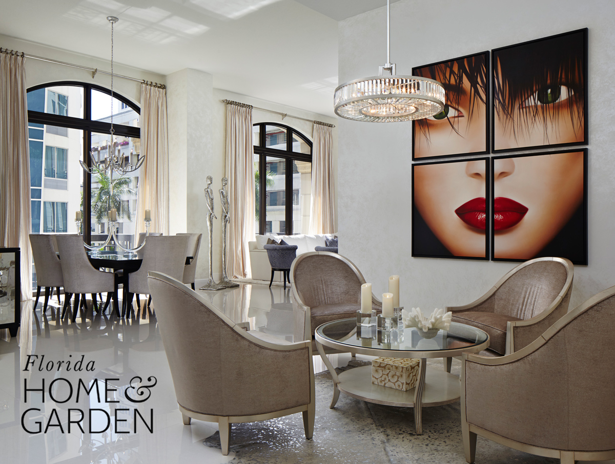 15 Jan Florida Home U0026 Garden Features Our Urban Glamour Great Room